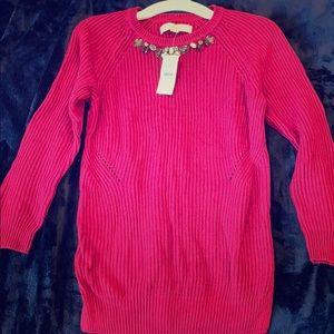 LOFT New red sweater, XSP